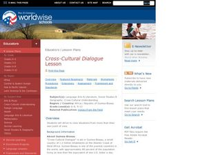 Cross-Cultural Dialogue Lesson Lesson Plan