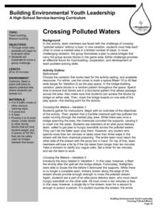 Crossing Polluted Waters Lesson Plan