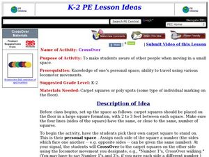 CrossOver Lesson Plan
