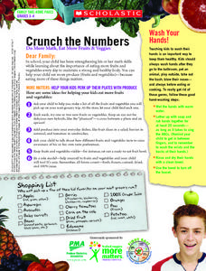 Crunch the Numbers Worksheet