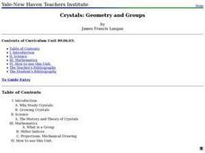 Crystals: Geometry and Groups Lesson Plan