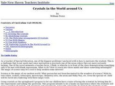 Crystals in the World around Us Lesson Plan