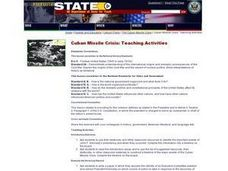 Cuban Missile Crisis: Teaching Activities Lesson Plan
