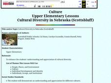 Cultural Diversity in Nebraska (Scottsbluff) Lesson Plan