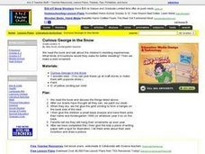 Curious George in the Snow Lesson Plan