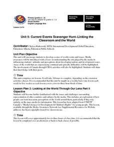 Current Events Scavenger Hunt Lesson Plan