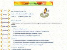 Cute as a Button/Caps for Sale Lesson Plan