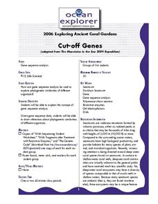 Cutt-Off Genes Lesson Plan