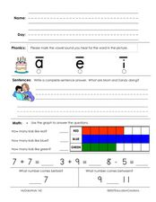 Daily Review Worksheet
