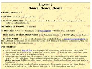 Dance, Dance, Dance Lesson Plan