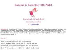 Dancing & Bouncing with Piglet Lesson Plan