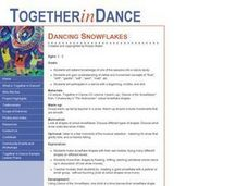 Dancing Snowflakes Lesson Plan