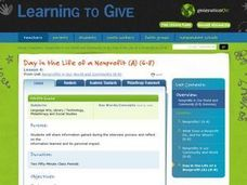 Day in the Life of a Nonprofit (A) Lesson Plan