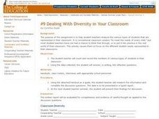 Dealing With Diversity in Your Classroom Lesson Plan
