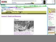 Death and Recovery Lesson Plan