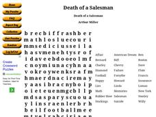 Death Of A Salesman Worksheet