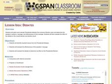 Debates Lesson Plan