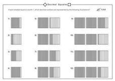 math worksheet : decimal models worksheet  worksheets for education : Decimal Model Worksheet