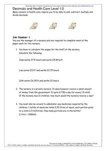 6th Grade Health Worksheets - Synhoff