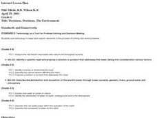 Decisions, Decisions, The Environment Lesson Plan