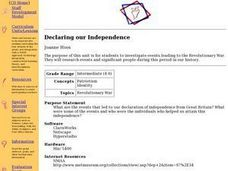 Declaring our Independence Lesson Plan