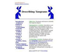 Describing Tangrams Lesson Plan
