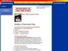 Design a Classroom Flag Lesson Plan