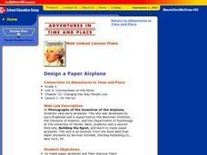 Design a Paper Airplane Lesson Plan