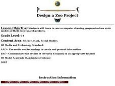 Design a Zoo Project Lesson Plan