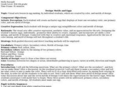 Design Motifs and Eggs Lesson Plan