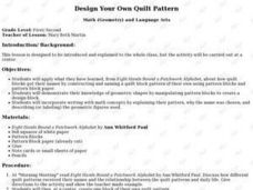 Design Your Own Quilt Pattern Lesson Plan