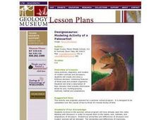 Designasaurus: Modeling Activity for a Paleoartist Lesson Plan