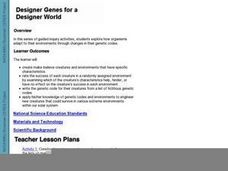 Designer Genes For A Designer World Lesson Plan