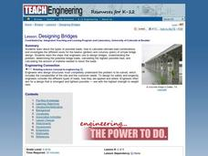 Designing Bridges Lesson Plan