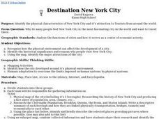 Destination New York City Lesson Plan