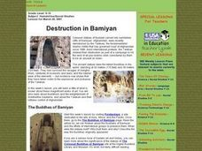 Destruction in Bamiyan Lesson Plan