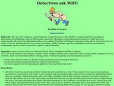 Detectives Ask Why! Lesson Plan
