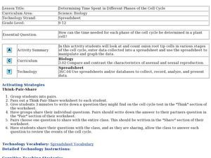 Determining Time Spent in Different Phases of the Cell Cycle Lesson Plan