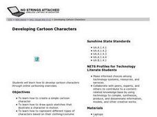 Developing Cartoon Characters Lesson Plan