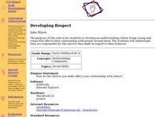 Developing Respect Lesson Plan