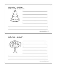 Did You Know Printables & Template