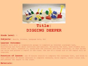 Digging Deeper Lesson Plan
