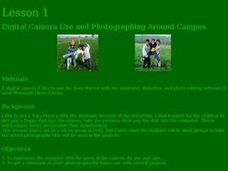 Digital Camera Use and Photographing Around Campus Lesson Plan
