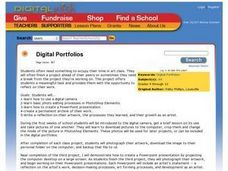 Digital Portfolios Lesson Plan