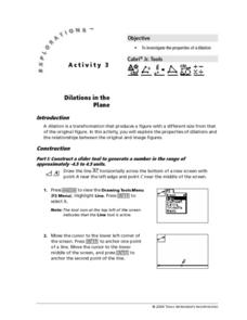 Dilations in the Plane Lesson Plan