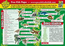 Dino-facts Lesson Plan