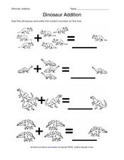 Dinosaur Addition Lesson Plan