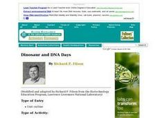 Dinosaur and DNA Days Lesson Plan