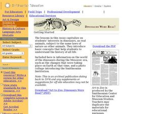 Dinosaurs Were Real! Lesson Plan