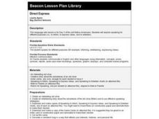 Direct Express Lesson Plan